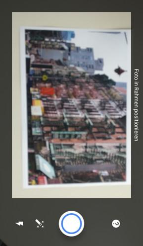 Fotoscanner von Google Fotos (App für iPhone & iPad)