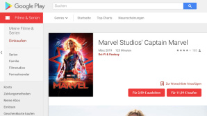 Captain Marvel © Google Play Store