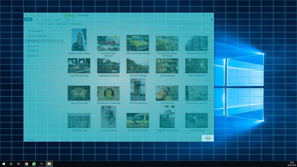 Screenshot 1 - WindowGrid