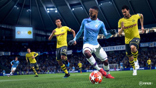 FIFA 20: Natural Player Motion©EA