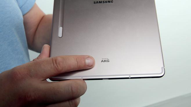 Samsung Galaxy Tab S6: Lautsprecher ©COMPUTER BILD