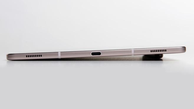 Samsung Galaxy Tab S6: Leicht schräge Position ©COMPUTER BILD