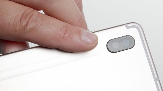 Samsung Galaxy Tab S6: Rückseitige Kamera ©COMPUTER BILD