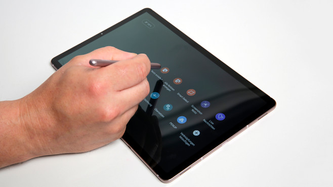 Samsung Galaxy Tab S6: Stift ©COMPUTER BILD