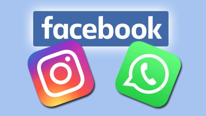 WhatsApp, Instagram, Facebook: Logos©WhatsApp, Instagram, Facebook