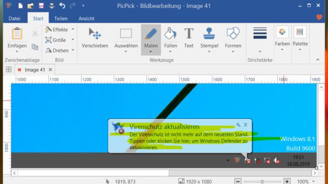 PicPick: Anleitung zum mächtigen Screenshot- und Bildbearbeitungstool©COMPUTER BILD