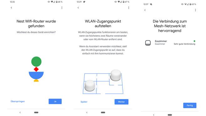 Google Nest Wifi©COMPUTER BILD