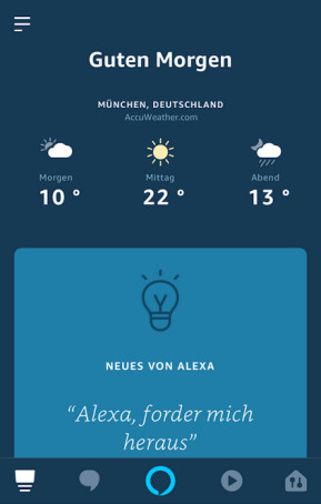 Amazon Alexa (App für iPhone & iPad)