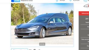 Tesla Leichenwagen©finn.no