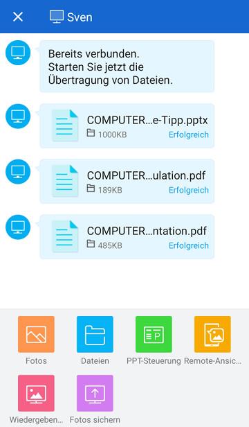 Screenshot 1 - Shareit (App für iPhone & iPad)