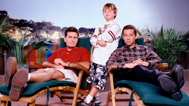 Two and a Half Men©CBS Photo Archive /Getty Images