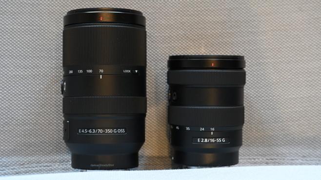 Neue Objektive für Sony aus der G-Serie©COMPUTER BILD
