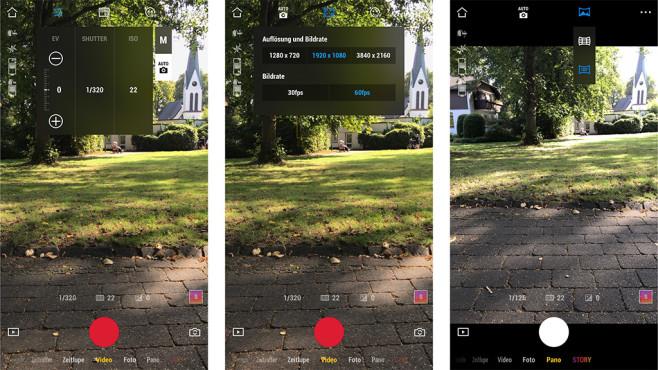 DJI Osmo Mobile 3: Mimo-App©COMPUTER BILD