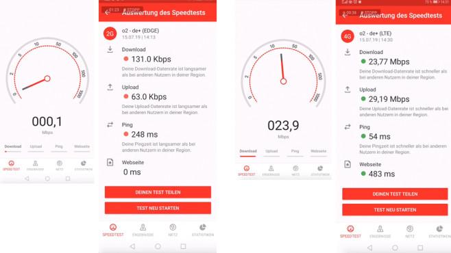 O2 bringt LTE aufs Land©COMPUTER BILD