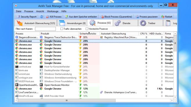 Windows 7/8/10: Programm mehr Ressourcen zuweisen – automatisch©COMPUTER BILD