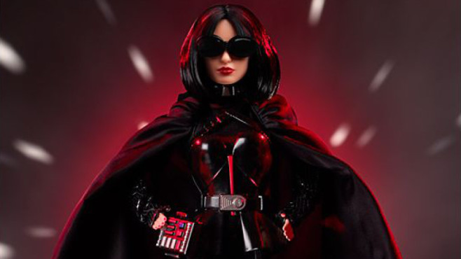 Star-Wars-Barbie: Darth Vader © Mattel