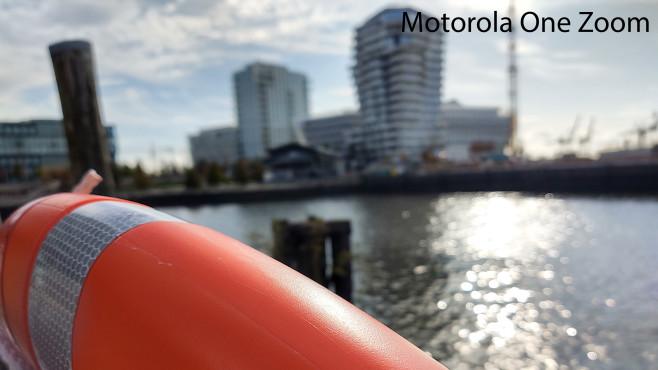 Motorola One Zoom: Tiefenschärfe©COMPUTER BILD