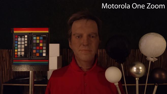 Motorola One Zooom: Teststand ohne Nachtmodus©COMPUTER BILD