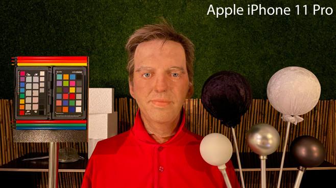 iPhone 11 Pro: Nachtmodus beim Teststand©COMPUTER BILD