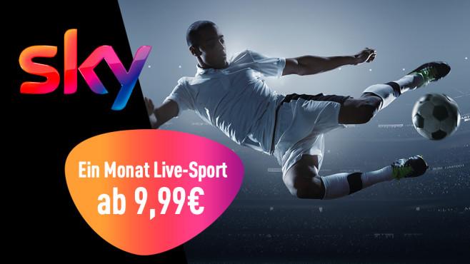 Fußball bei Sky: Ein Monat Live-Sport ab 9,99 Euro©iStock.com/Dmytro Aksonov