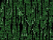 Software-Tipp des Tages: YZMatrix YZMatrix: Es lassen sich sogar eigene Botschaften in den Bildschirmschoner integrieren.