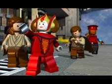 Lego Star Wars – Die komplette Saga Alle wichtigen Darsteller der Film-Trilogie tauchen auch im Spiel auf.