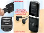 Der MP3-Player von Tevion wartet mit vielen Funktionen auf.