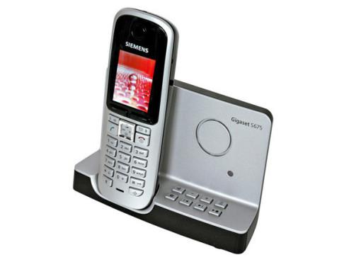 Siemens Gigaset S675: Analoges, schnurloses Telefon