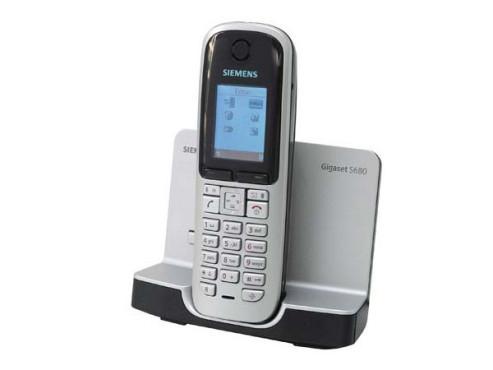 Siemens Gigaset S680: Analoges, schnurloses Telefon
