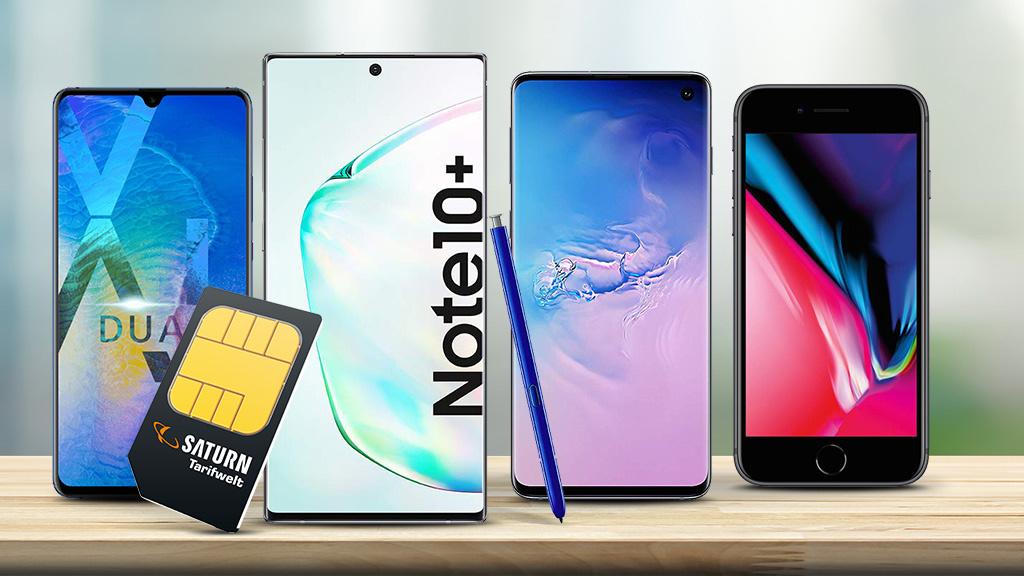 Saturn Tarif-Deals: Top-Smartphones im Angebot