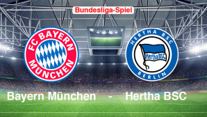 Bayern gegen Hertha©FC Bayern, Hertha BSC