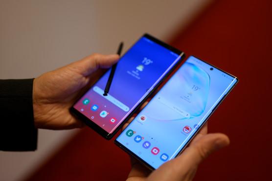 Samsung Galaxy Note 9 versus Note 10 Plus©COMPUTER BILD