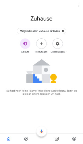 Google Home (Android-App)