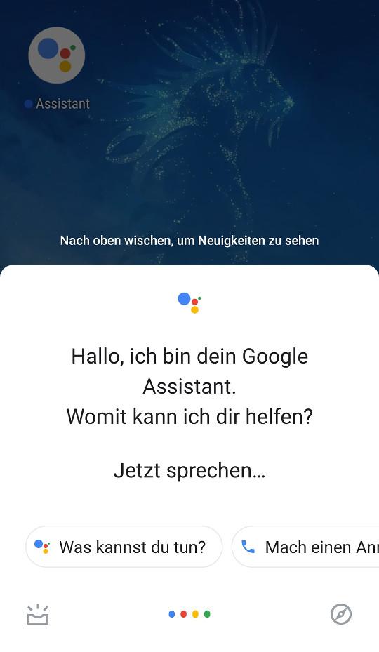 Screenshot 1 - Google Assistant (Android-App)