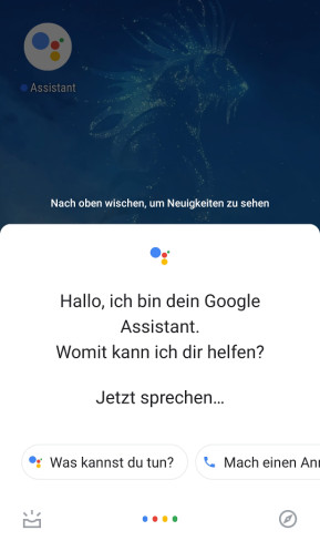 Google Assistant (Android-App)