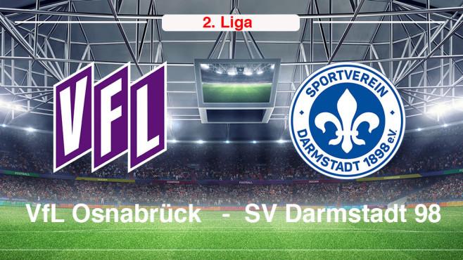 VfL Osnabrück vs. Darmstadt 98©VfL Osnabrück, Darmstadt 98
