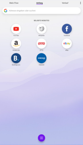 Opera Touch (Android-App)