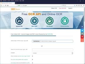 OCR.Space: Texterkennung kostenlos
