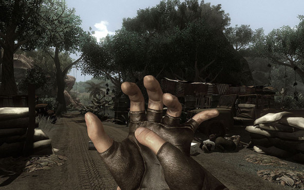 Actionspiel Far Cry 2: Hand