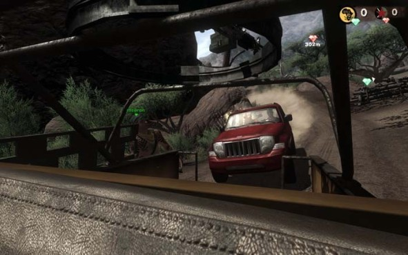 Actionspiel Far Cry 2: Jeep