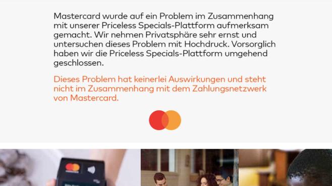 Mastercard: Stellungahme©Mastercard.de