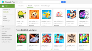 Apps im Google Play Store © Google