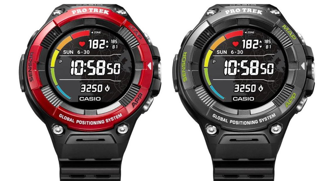 Casio WSD-F21HR: Neue Outdoor-Smartwatch mit Pulssensor