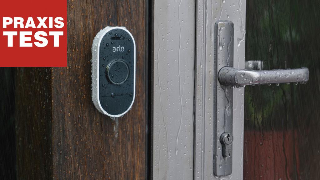 Arlo Audio Doorbell im Praxis-Test: Diese Türklingel hört zu!