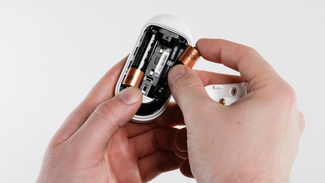 Arlo Audio Doorbell: Batteriefach©Arlo, COMPUTER BILD