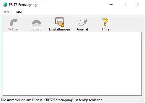 Screenshot 1 - Fritz-Fernzugang (VPN-Client)