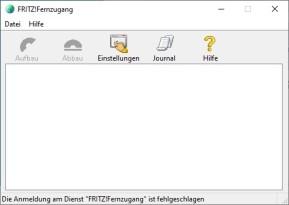 Fritz-Fernzugang (VPN-Client)