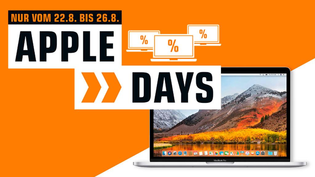 Deals bei Saturn: Apple Days mit MacBook und MacBook Pro