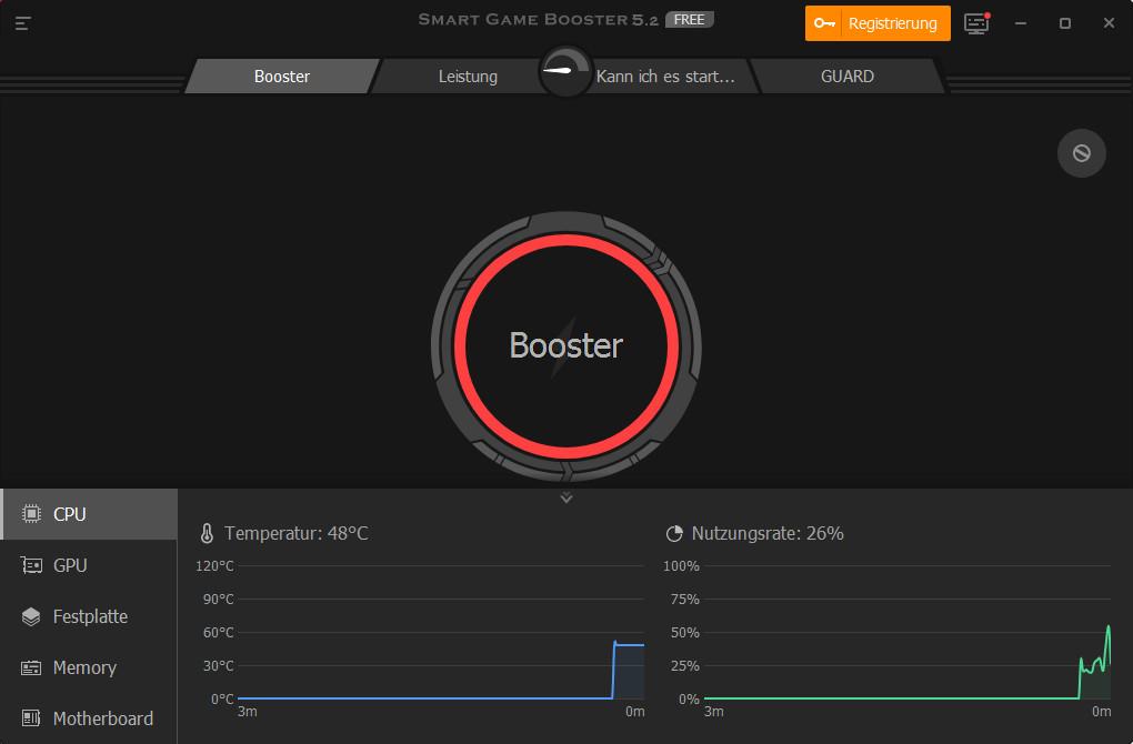 Screenshot 1 - Smart Game Booster