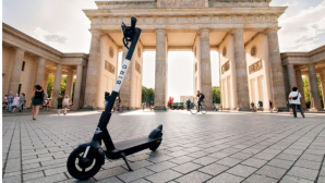 Bird E-Scooter © dpa-Bildfunk